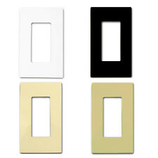 Decorator Screwless Child-Safe Wall Plate SI8831 Single Cover 1 Gang Face Plate