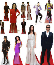 Celebrity Desktop Cardboard Ultimate Cutouts 17CM Tall Real Stand Up Fold Neatly