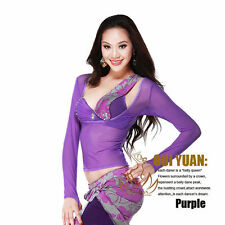 Unique Belly Dance Costume Dancewear Dress Top Choli Free Shipping
