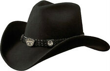 Jack Daniels Crushable Shapeable Felt Cowboy Hat