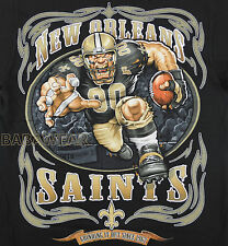 Saints Running Back T-Shirt Black NFL New Orleans Football BABA