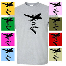 Dropping F Bombs Funny Bad Words AIRPLANE MENS T-SHIRT