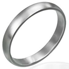 Personalized 4mm Stainless Steel Band Ring - Free Engraving