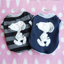 Pet Dog Clothes Cute Puppy T-shirts (XS,S,M,L,XL) Made In Korea