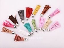 5pcs Stylish Artificial Leather Tassel pandent for bags,key chains