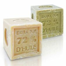 natural MARSEILLE SOAP 300g cube olive /palm oil, French traditional receipt