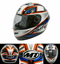 MT Falcon Helmet Full Face Motorcycle Motorbike Graphic Helmet Clearance