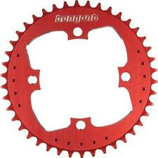 TANGENT BMX 4 BOLT CHAINRING RED (ALL SIZES) FIT SHIMANO,CRUPI,PROFILE,REDLINE
