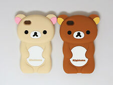 3D BEAR SOFT RUBBER SILICONE PHONE CASE COVER for APPLE IPHONE 4 4G 4S