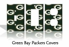 Green Bay Packers Light Switch Covers Football NFL Home Decor Outlet