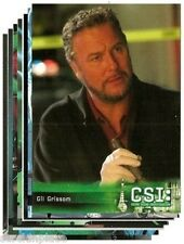 CSI: Cards BUY ONE CARD and get NINE FREE! -Your Choice! Season 5   Cards 48-72