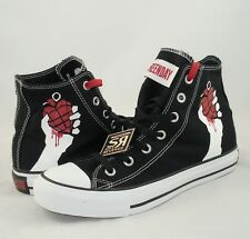 New Converse GREEN DAY American Idiot All Star Hi Chuck Taylor Shoes uno dos tre