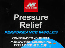 New Balance PRESSURE RELIEF performance INSOLES Mulitple sizes
