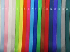 20Yards, 5/8'' (15mm) -Colorful Nylon Webbing- Fine-Close, multi color choices