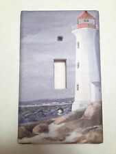 Lighthouse Beach Light Switch Covers Home Decor Outlet