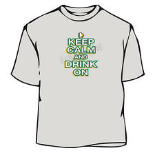 St. Patrick's Day Keep Calm and Drink On Irish T-Shirt