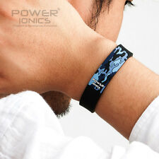 New Power Ionics Unisex Healthy Ion F.I.R Waterprood Sports Bracelet Wristband