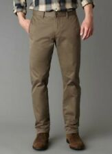Dockers Alpha Khaki Slim-Fit Flat-Front Tapered Leg Pants NWT 100% Cotton