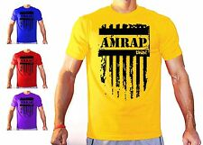 AMRAP THIS CROSSFIT TRAINING T SHIRT WORKOUT GEAR BODY BUILDING