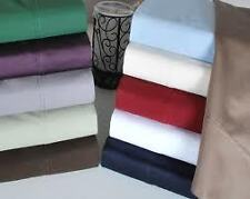 500 TC FITTED SHEET,DUVET COVER & 2 PC  EGYPTIAN COTTON FREE P&P ALL UK SIZE!