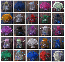 9X12CM Quality Wedding Decorating Organza Jewellery Candy Gift Bag Pouch UK