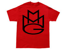 MAYBACH MUSIC T-shirt MMG Rick Ross Wale Meek Mills Stalley Omarion *Black/Red*