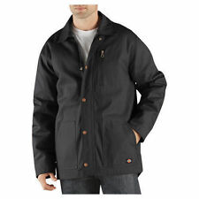 Dickies JACKET Mens Mid-Weight Blanket Lined Duck Coat TC924 BROWN DUCK, BLACK