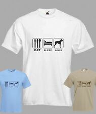 Eat Sleep Boxer Dogt-shirt in all sizes
