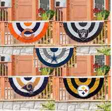 Officially Licensed Team Bunting House Flag Indoor and Outdoor