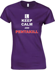 Keep Calm and Pentakill, League of Legends Inspired Ladies Printed T-Shirt