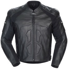 *Free 2-Day Shipping* Cortech Adrenaline (Black) Leather Jacket     S,M,L,XL,2XL