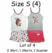 TANK TOP SHORTS SKORTS GIRLS SUMMER LOT SIZE 4 PLAY CLOTHES SET OUTFIT Children