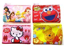 CHILDRENS KIDS COINS PURSE HELLO KITTY ELMO PRINCESS MY MELODY COIN PURSE WALLET