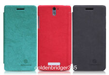 NILLKIN PU Leather Wallet Cover Case for OPPO X909 Find 5 + LCD Film