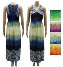 Women Sundress Maxi Long Beach Casual Evening Lace Boho Dress Summer M L XL