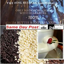 Luxurious Chocolate Fountain Buttons 250g 500g  700 1kg For Celebrations Parties