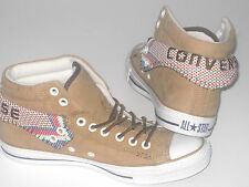 Mens CONVERSE CT PC2 MID Wheat Leather Trainers 135867C