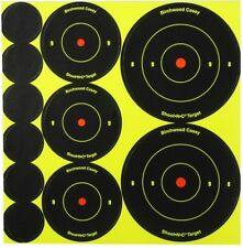 "11 33 66  Birchwood 1"" 2"" 3"" ASSORTED ShootNc Stick on Target Air Rifle High Viz"