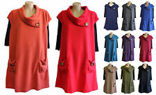 NEW FILO Wool Blend Fleece Layering Tunic SIZES 8 10 12 14 16 18 20