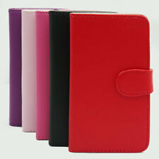 PU Leather Wallet Flip Grip Case COVER  for  Samsung Galaxy Note II 2 N7100.