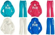 NWT p s aeropostale Kids Zip Up Hoodie & Pants U Pick Color & Sz 6 7 8 10 12