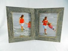4x5 4x6 5x7 8x10 Barnwood Rustic Weathered Picture Photo Frame Double Hinged New