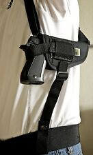 Keltec P11 | Nylon Horizontal Shoulder Holster with Double Mag Pouch. USA MADE!