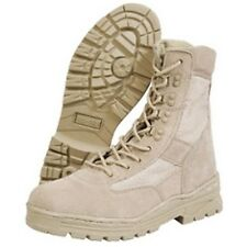Mil-Com Tactical Desert Patrol Boots New Army Military Cadets 7-13 Sand Suede