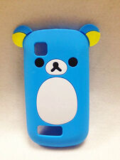 3D Ear Relax Tiny Bear cute lovely Silicone Cover Case For Nokia Asha 200 201