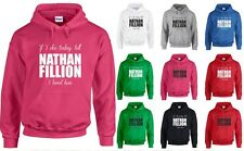 Tell Nathan Fillion I Loved Him, Firefly inspired Printed Hoodie