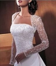 Bridal wedding lace BOLERO white / ivory lace jacket WEDDING DRESS jacket