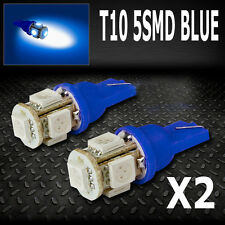 Blue LED Parker License Number Plate Lights Bulbs T10 W5W Falcon Commodore