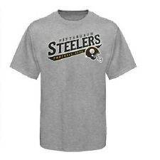 "Pittsburgh Steelers Mens Reebok ""Call Is Tails"" T-shirt"