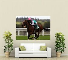 Horse Racing Giant XL Section Wall Art Poster SP111
